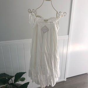 Beautiful White flowy dress